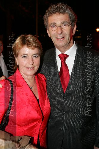 Chiel met his now wife in Amsterdam at Royal Theatre Carre on November 15, 2004