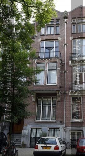 photo: house/residence of beautiful charming talented  1.5 million earning Amsterdam, The Netherlands-resident